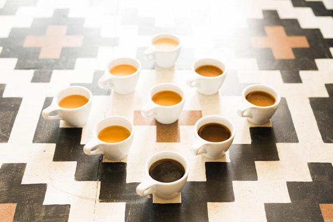 wie ben jij? Espresso, cuppuccino, koffie met suiker