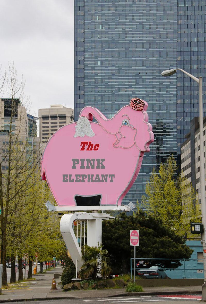 roze olifant huwelijksproblemen